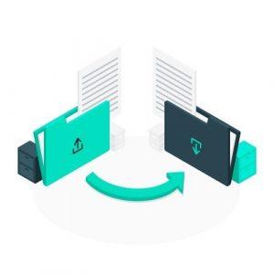Downloadable blockchain certificates